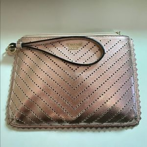 Victoria Secret Rose Gold Clutch